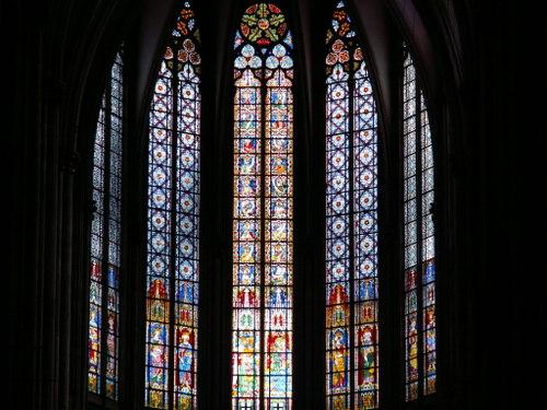 ケルン大聖堂のステンドガラス